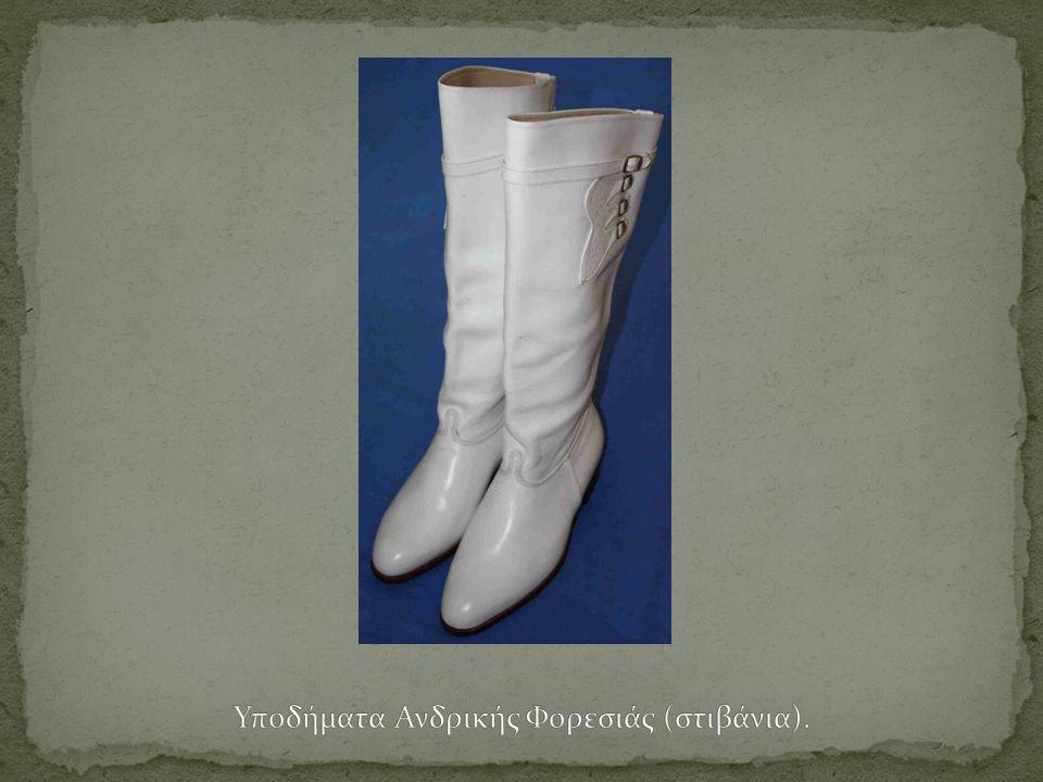Υποδήματα Ανδρικής Φορεσιάς (στιβάνια).
