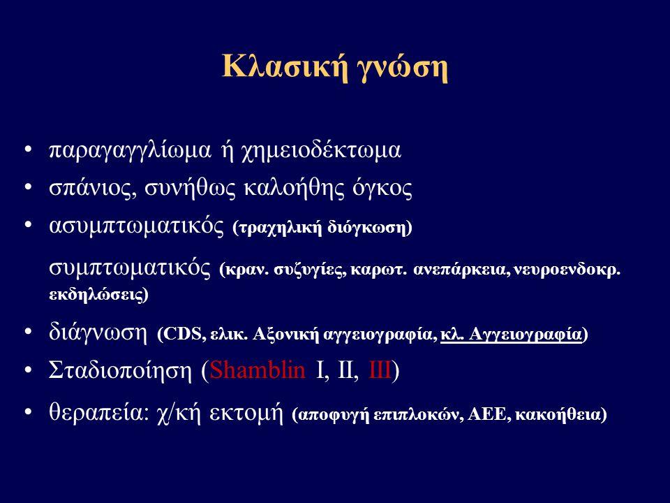 Κλασική γνώση παραγαγγλίωμα ή χημειοδέκτωμα
