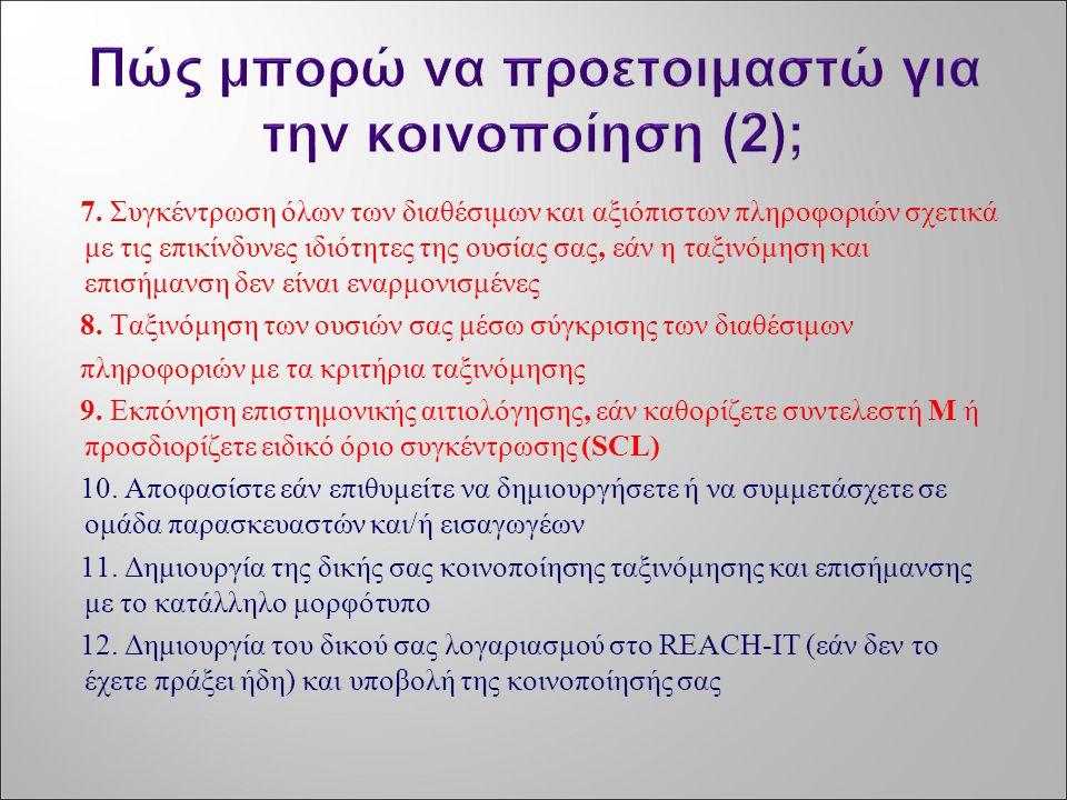Πώς μπορώ να προετοιμαστώ για την κοινοποίηση (2);