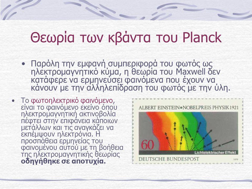 Θεωρία των κβάντα του Planck