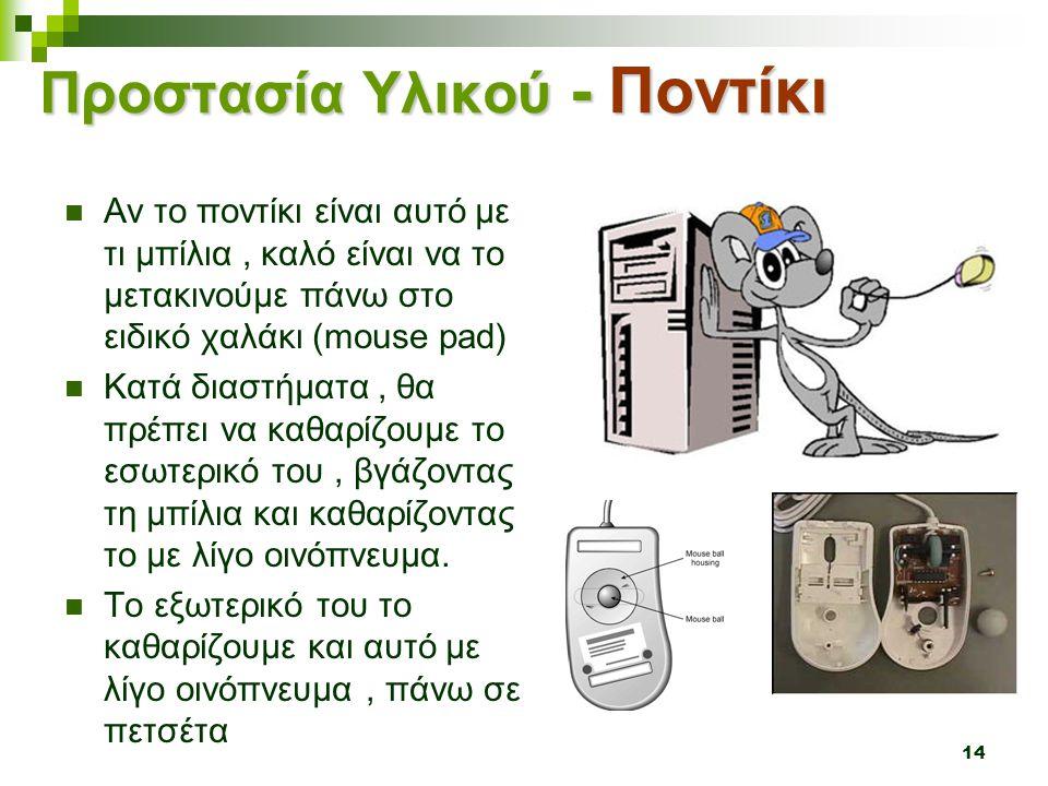 Προστασία Υλικού - Ποντίκι