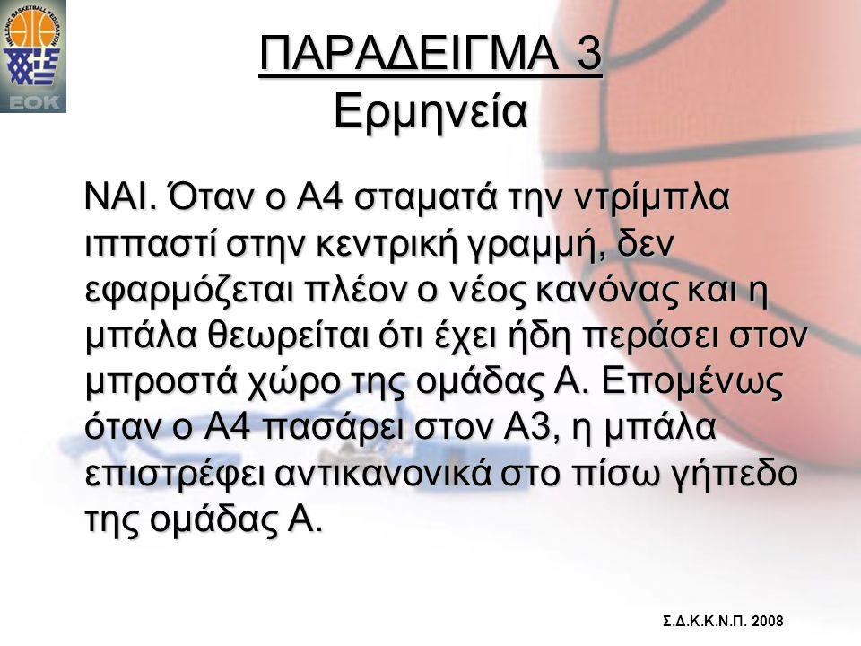 ΠΑΡΑΔΕΙΓΜΑ 3 Ερμηνεία