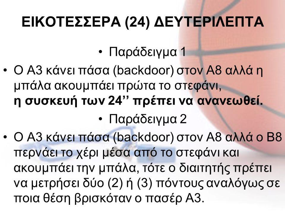 ΕΙΚΟΤΕΣΣΕΡΑ (24) ΔΕΥΤΕΡΙΛΕΠΤΑ