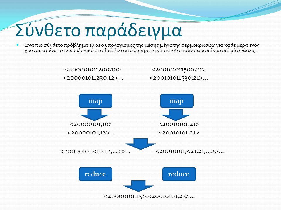 Σύνθετο παράδειγμα <200001011200,10> <200001011230,12>...