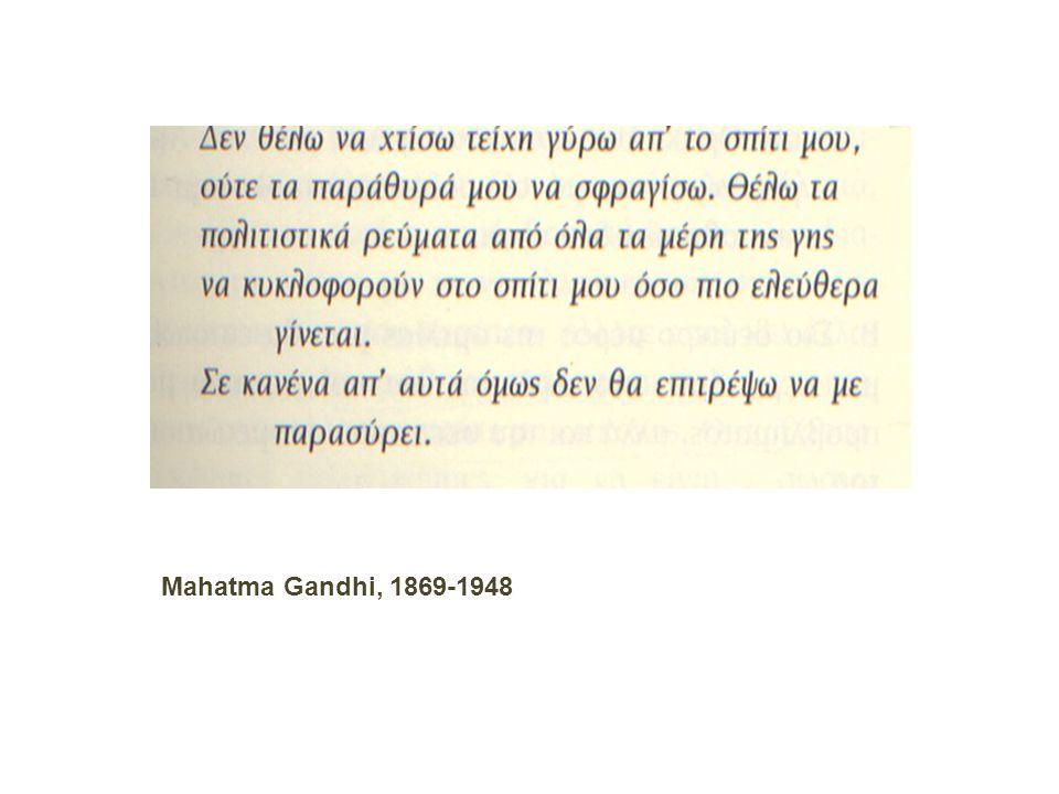 Mahatma Gandhi, 1869-1948