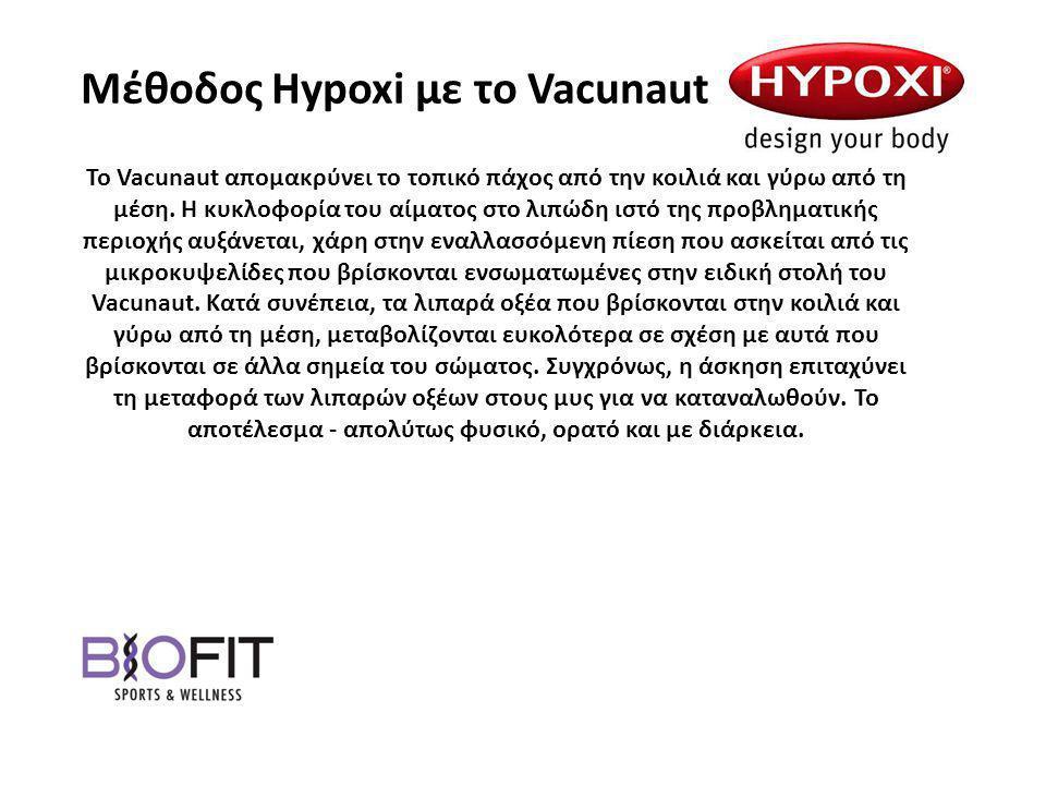 Μέθοδος Hypoxi με το Vacunaut