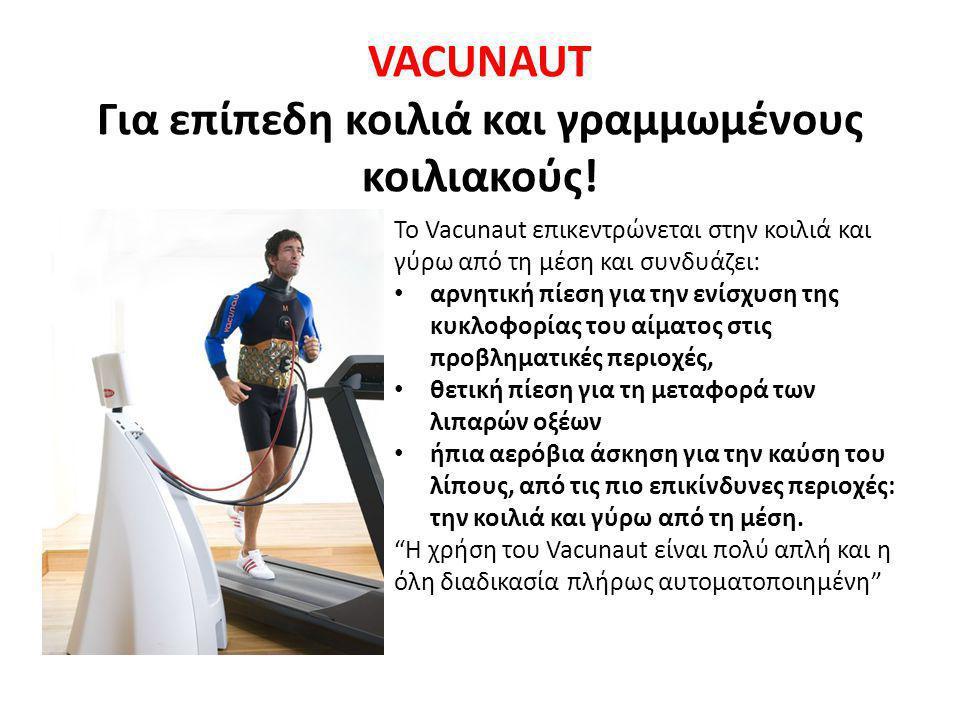 VACUNAUT Για επίπεδη κοιλιά και γραμμωμένους κοιλιακούς!