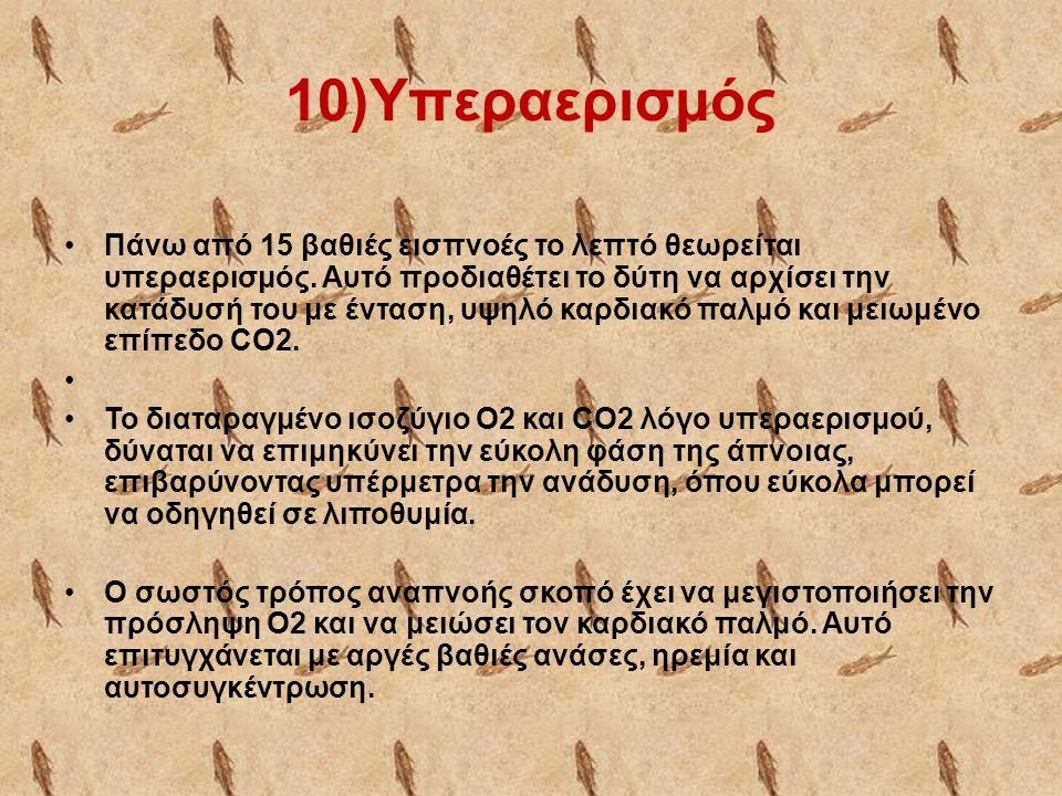 10)Υπεραερισμός