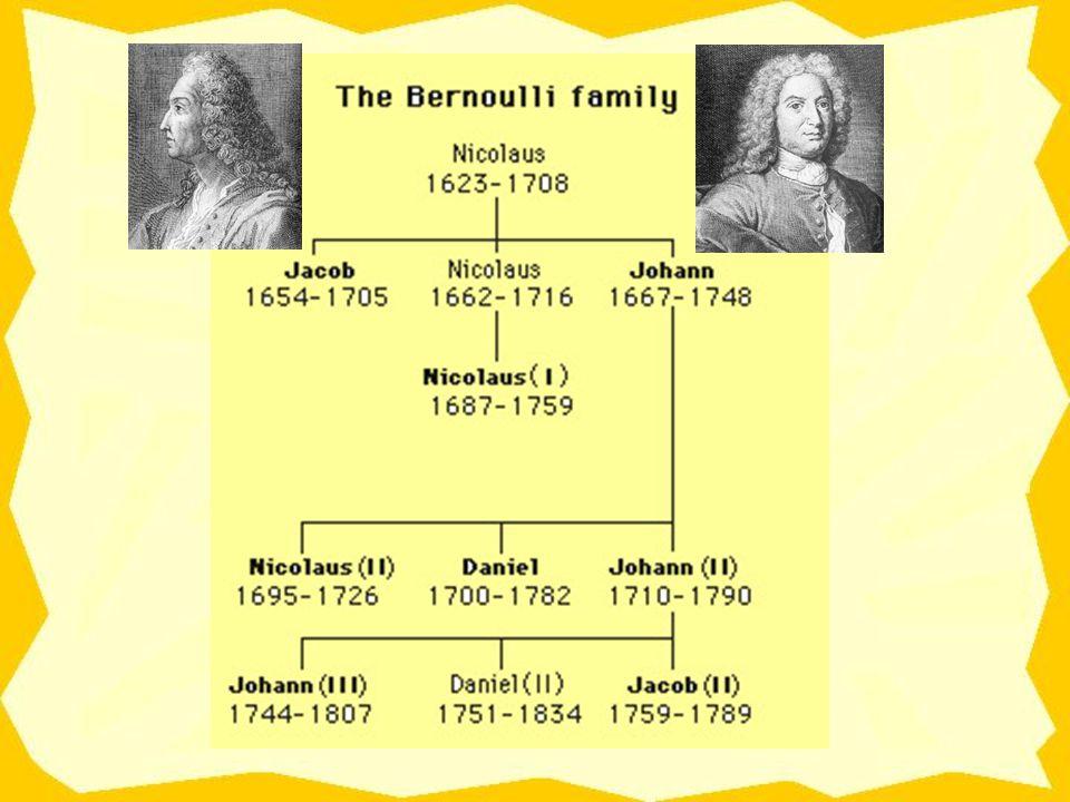Oι Bernoulli