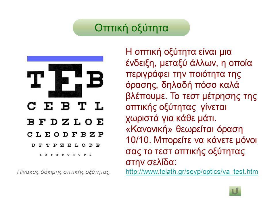 Οπτική οξύτητα