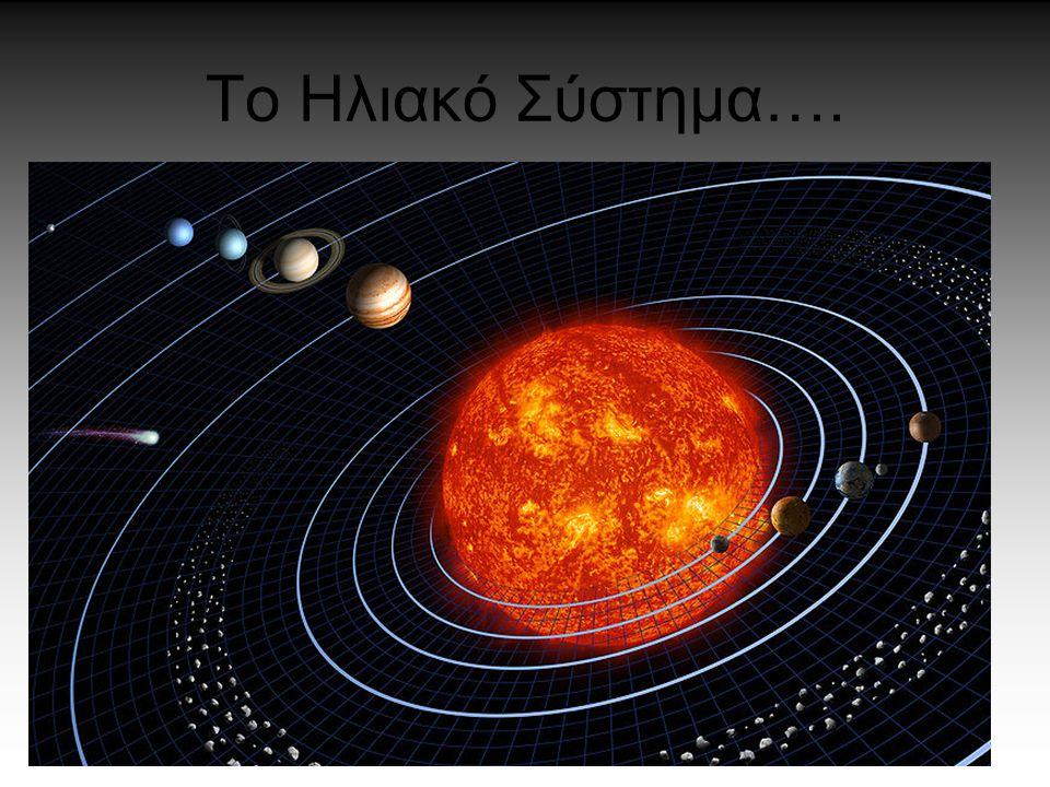 Το Ηλιακό Σύστημα….