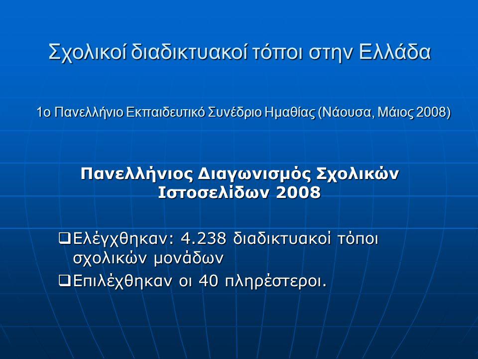 1ο Πανελλήνιο Εκπαιδευτικό Συνέδριο Ημαθίας (Νάουσα, Μάιος 2008)