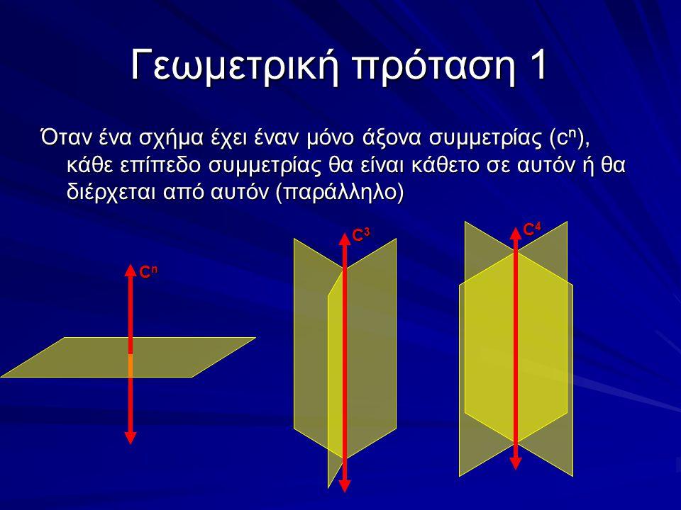 Γεωμετρική πρόταση 1