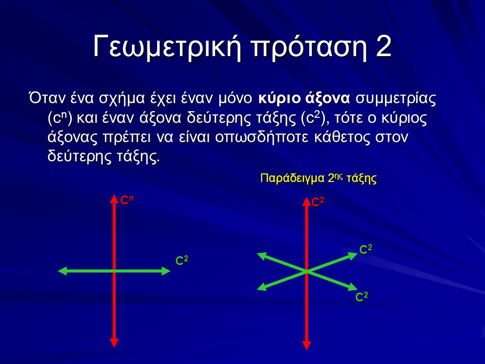 Γεωμετρική πρόταση 2