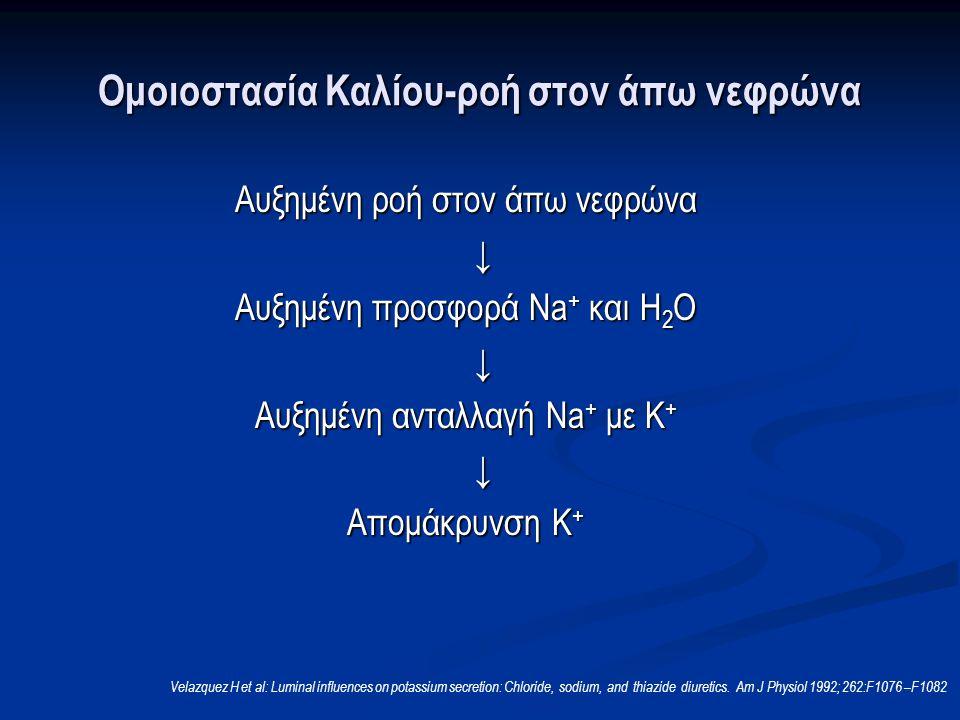 Ομοιοστασία Καλίου-ροή στον άπω νεφρώνα