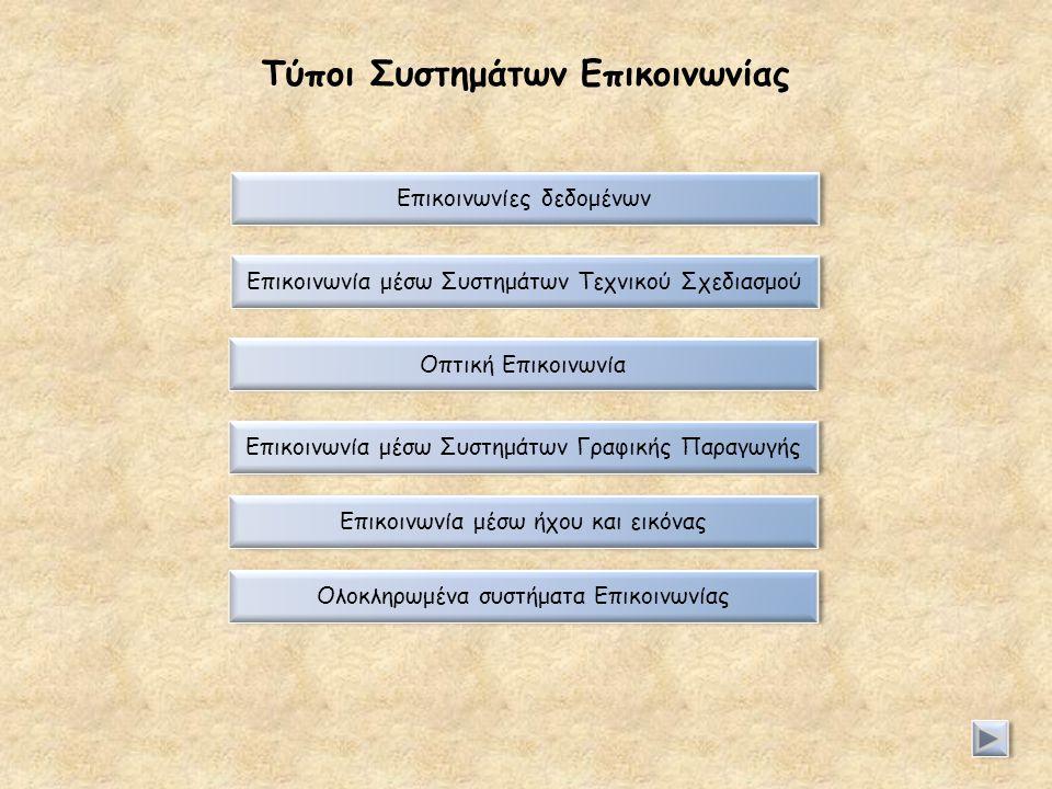 Τύποι Συστημάτων Επικοινωνίας