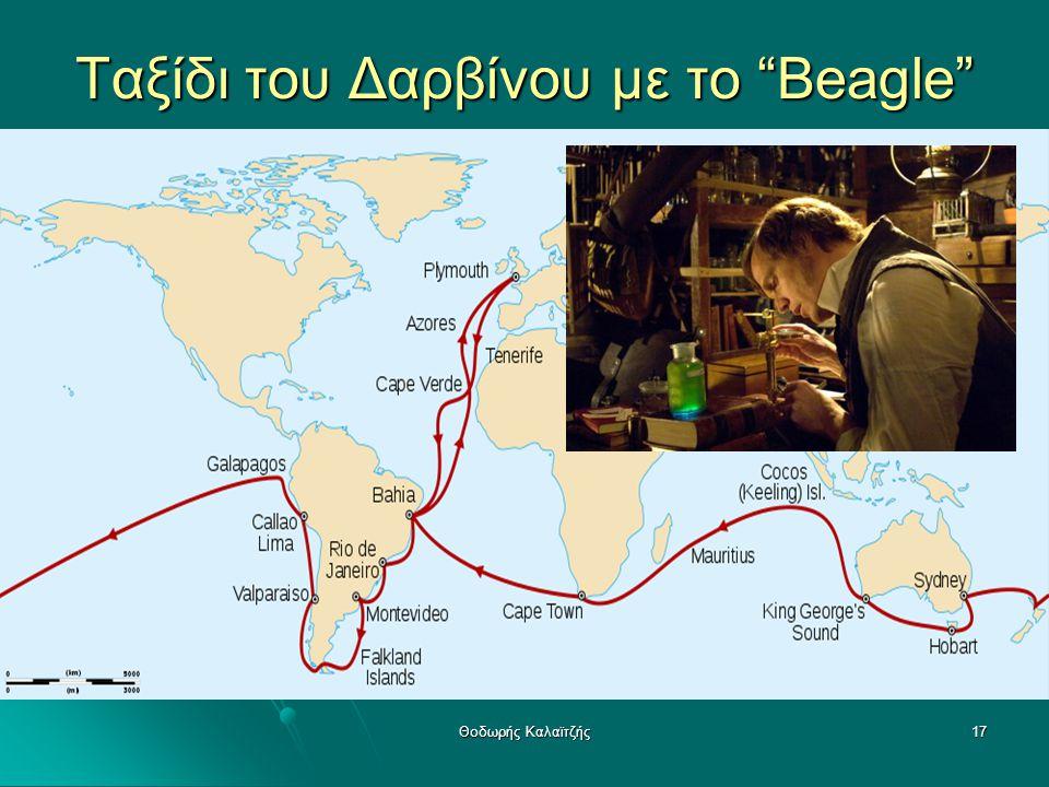 Ταξίδι του Δαρβίνου με το Beagle
