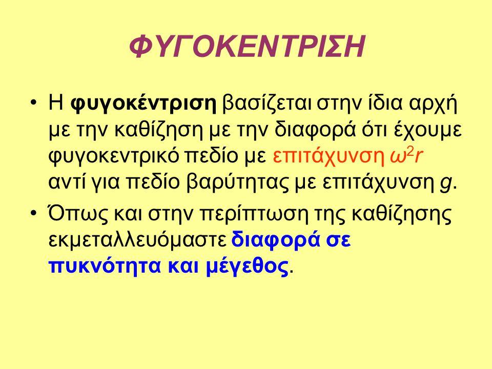 ΦΥΓΟΚΕΝΤΡΙΣΗ