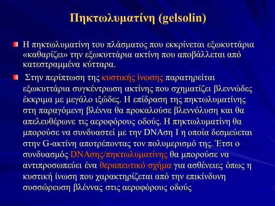 Πηκτωλυματίνη (gelsolin)