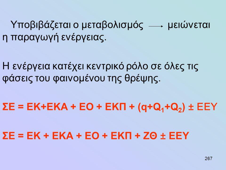 Ταυτόχρονα παράγεται ενέργεια για παραγωγή μηχανικού (π. χ
