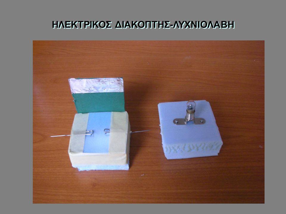 ΗΛΕΚΤΡΙΚΟΣ ΔΙΑΚΟΠΤΗΣ-ΛΥΧΝΙΟΛΑΒΗ