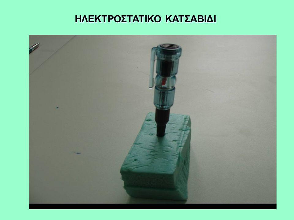 ΗΛΕΚΤΡΟΣΤΑΤΙΚΟ ΚΑΤΣΑΒΙΔΙ