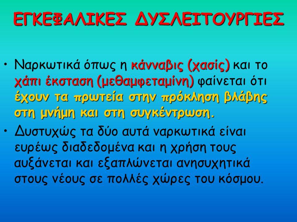 ΕΓΚΕΦΑΛΙΚΕΣ ΔΥΣΛΕΙΤΟΥΡΓΙΕΣ
