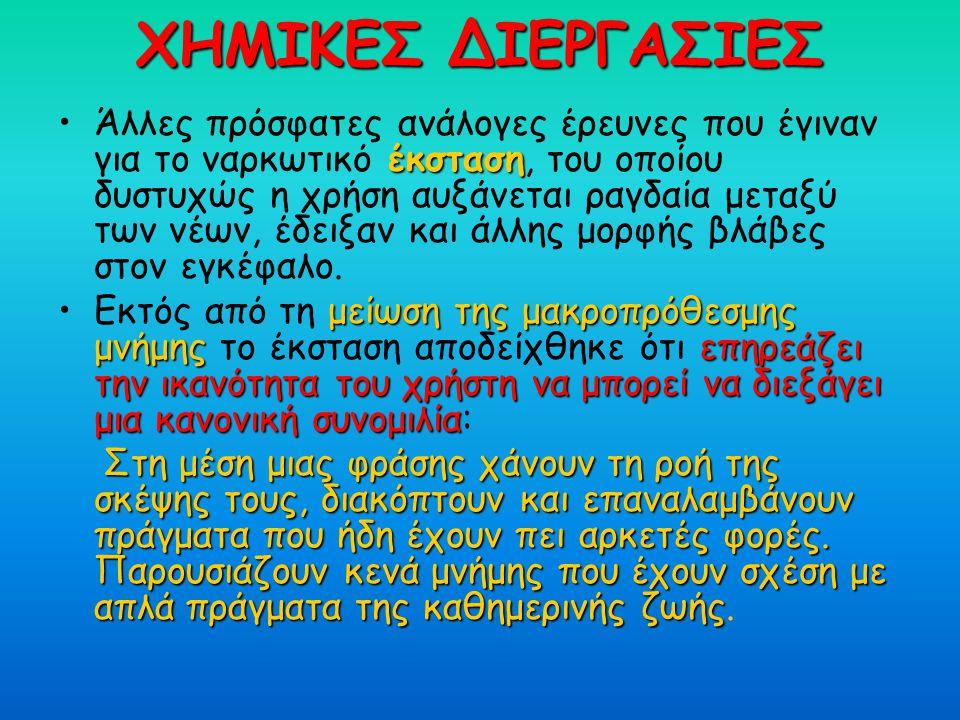 ΧΗΜΙΚΕΣ ΔΙΕΡΓΑΣΙΕΣ