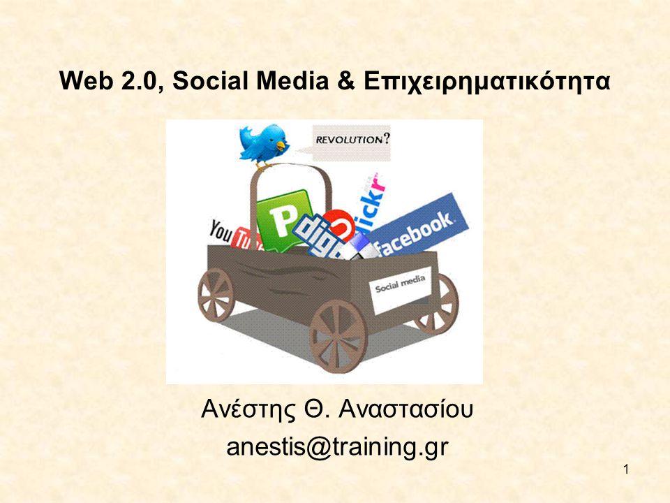 Web 2.0, Social Media & Επιχειρηματικότητα