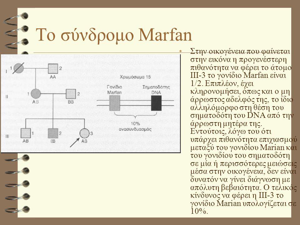 Το σύνδρομο Marfan