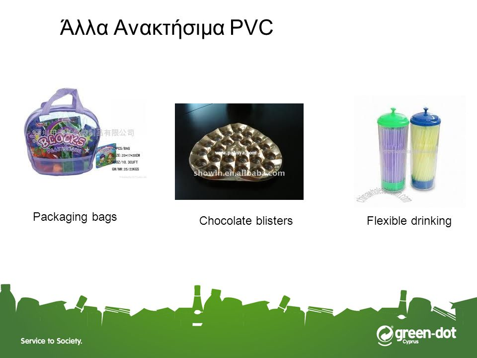 Άλλα Ανακτήσιμα PVC Packaging bags Chocolate blisters