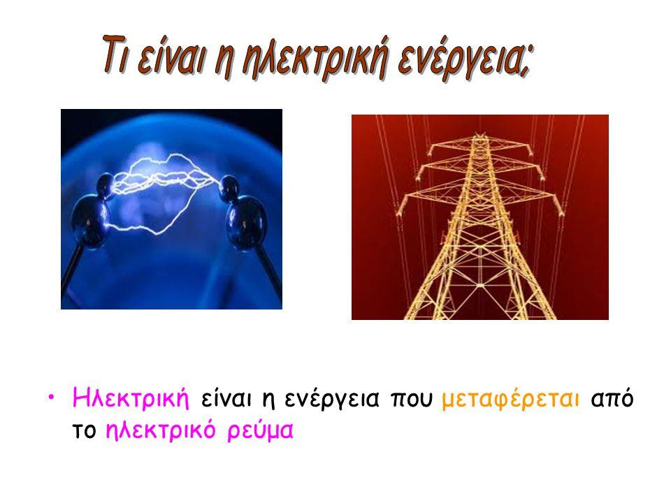 Τι είναι η ηλεκτρική ενέργεια;