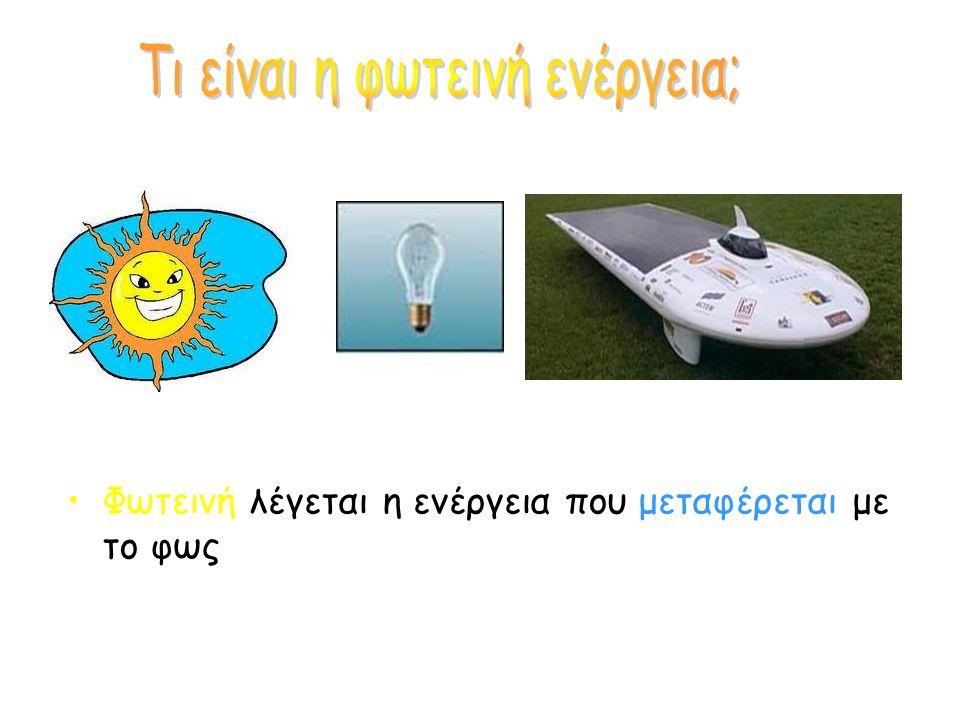 Τι είναι η φωτεινή ενέργεια;