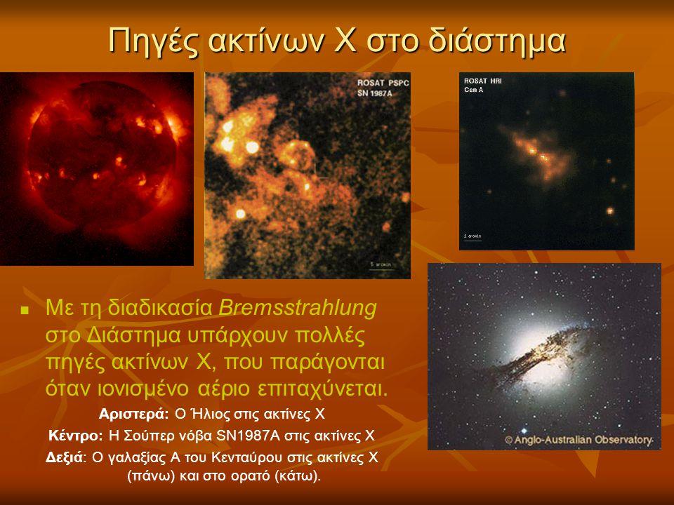 Πηγές ακτίνων Χ στο διάστημα
