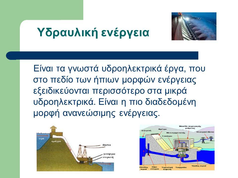 Υδραυλική ενέργεια