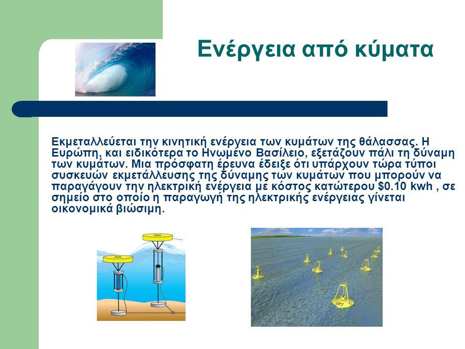 Ενέργεια από κύματα