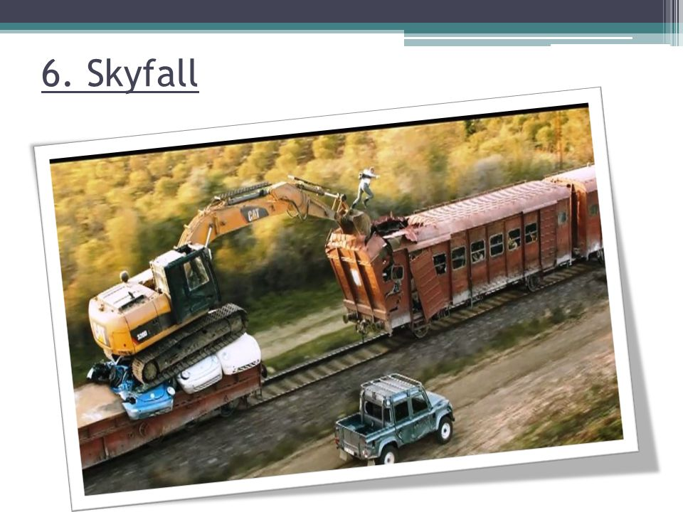 6. Skyfall