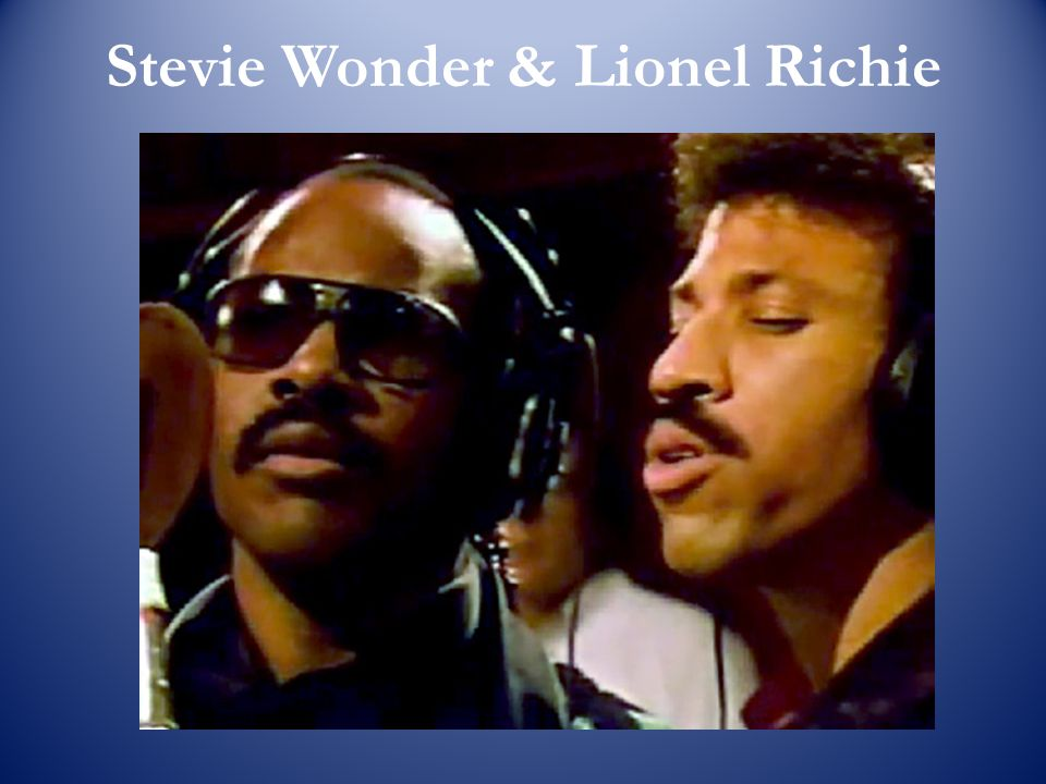 Stevie Wonder & Lionel Richie
