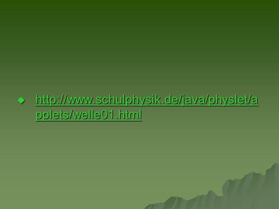 http://www.schulphysik.de/java/physlet/applets/welle01.html
