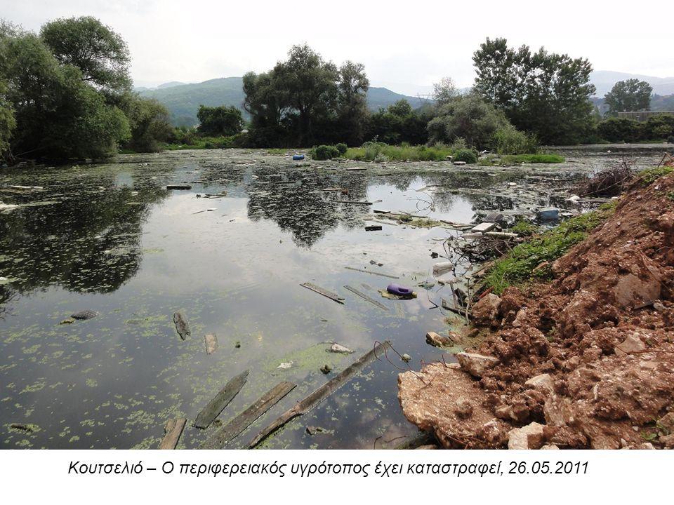 Κουτσελιό – Ο περιφερειακός υγρότοπος έχει καταστραφεί, 26.05.2011
