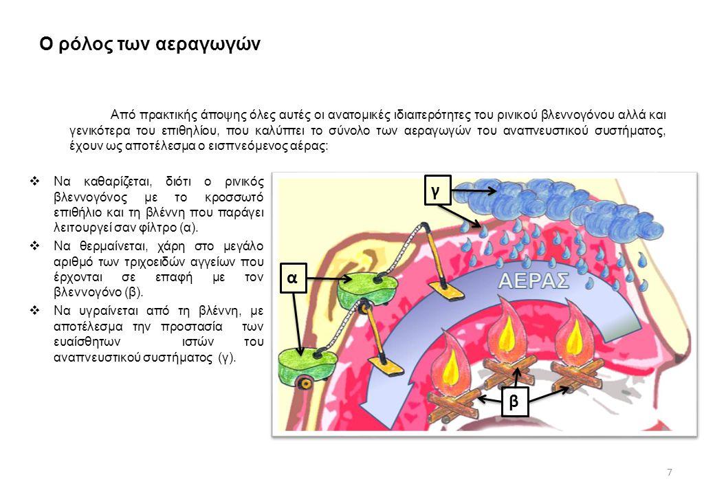 Ο ρόλος των αεραγωγών γ α β