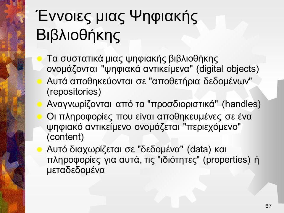 Έννοιες μιας Ψηφιακής Βιβλιοθήκης
