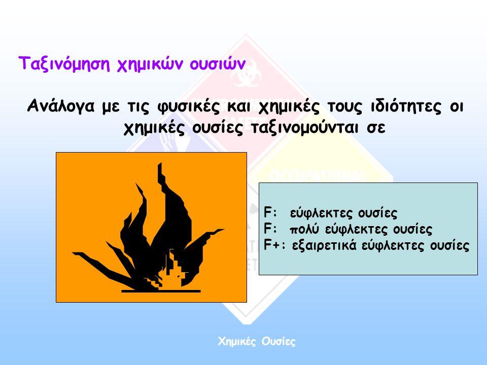 Ταξινόμηση χημικών ουσιών