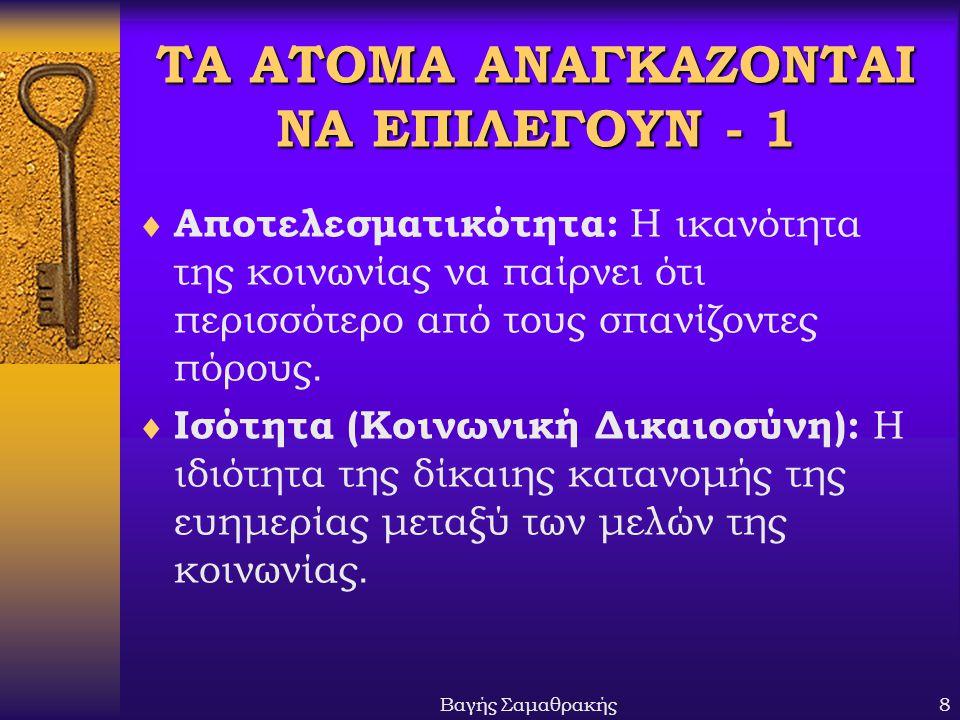 ΤΑ ΑΤΟΜΑ ΑΝΑΓΚΑΖΟΝΤΑΙ ΝΑ ΕΠΙΛΕΓΟΥΝ - 1