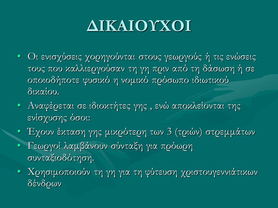ΔΙΚΑΙΟΥΧΟΙ