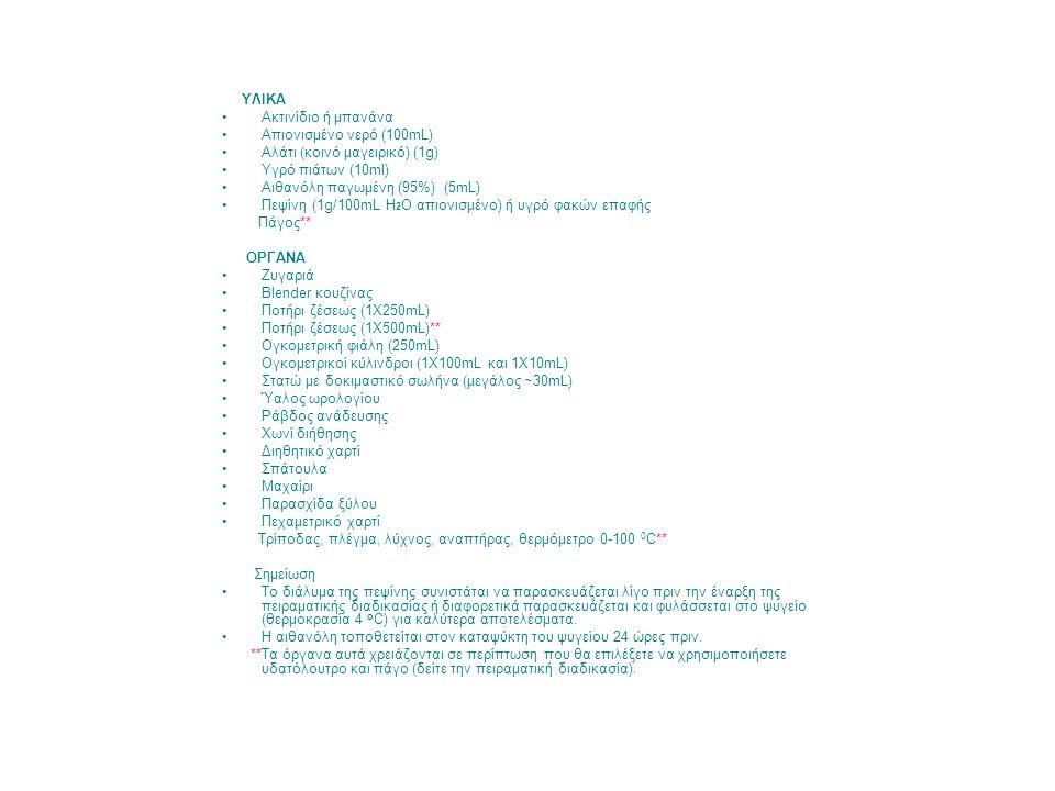 Aλάτι (κοινό μαγειρικό) (1g) Yγρό πιάτων (10ml)