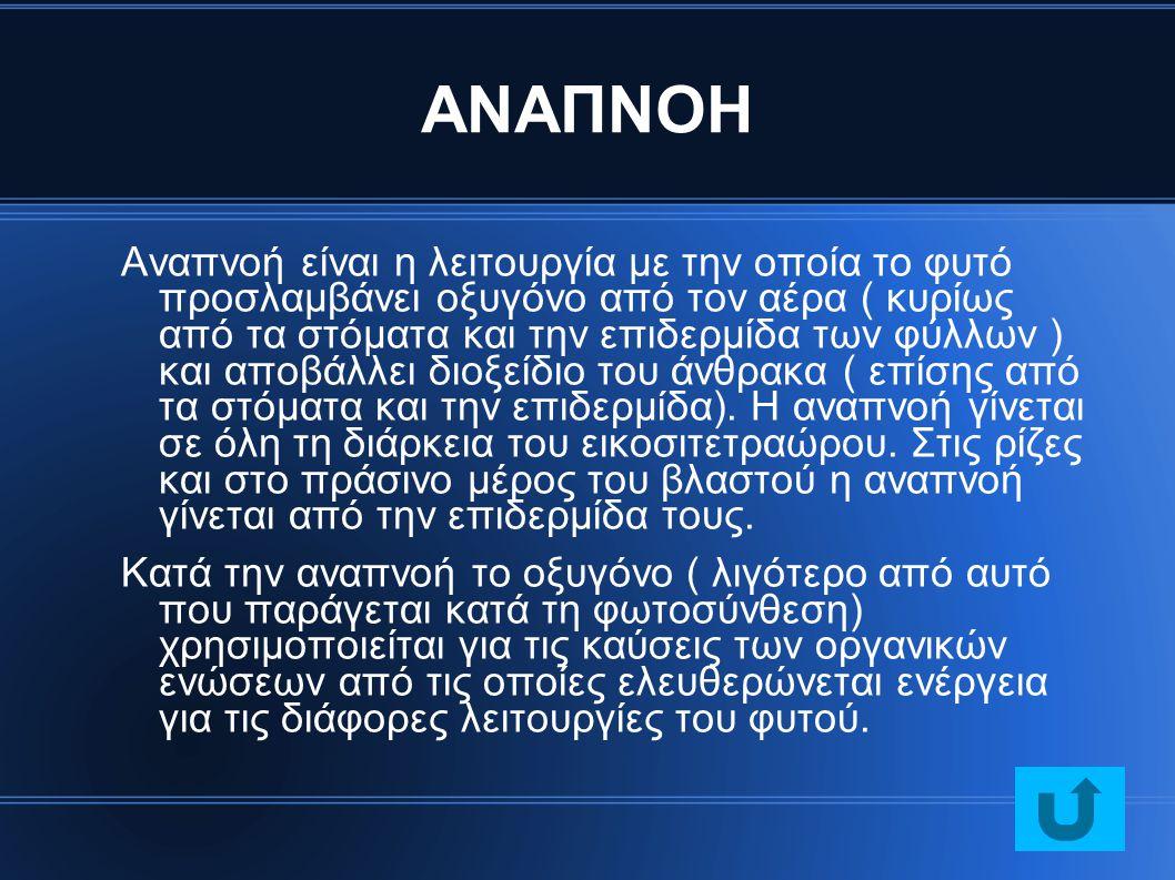 ΑΝΑΠΝΟΗ