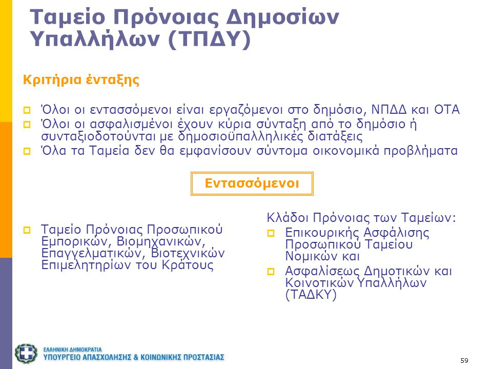 Ταμείο Πρόνοιας Δημοσίων Υπαλλήλων (ΤΠΔΥ)