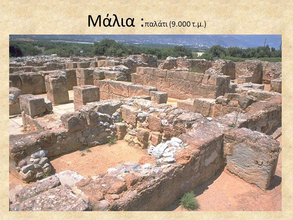 Μάλια :παλάτι (9.000 τ.μ.)