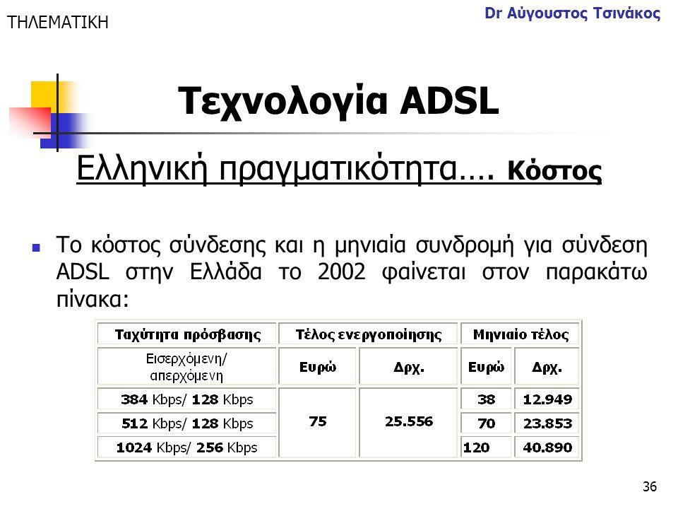 Ελληνική πραγματικότητα…. Κόστος